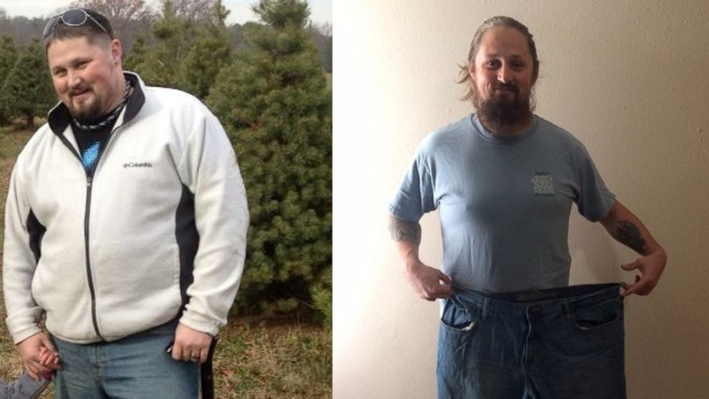 Army veteran Buddy Rich lost 125 pounds through a yoga plan of former pro wrestler Diamond Dallas Page.