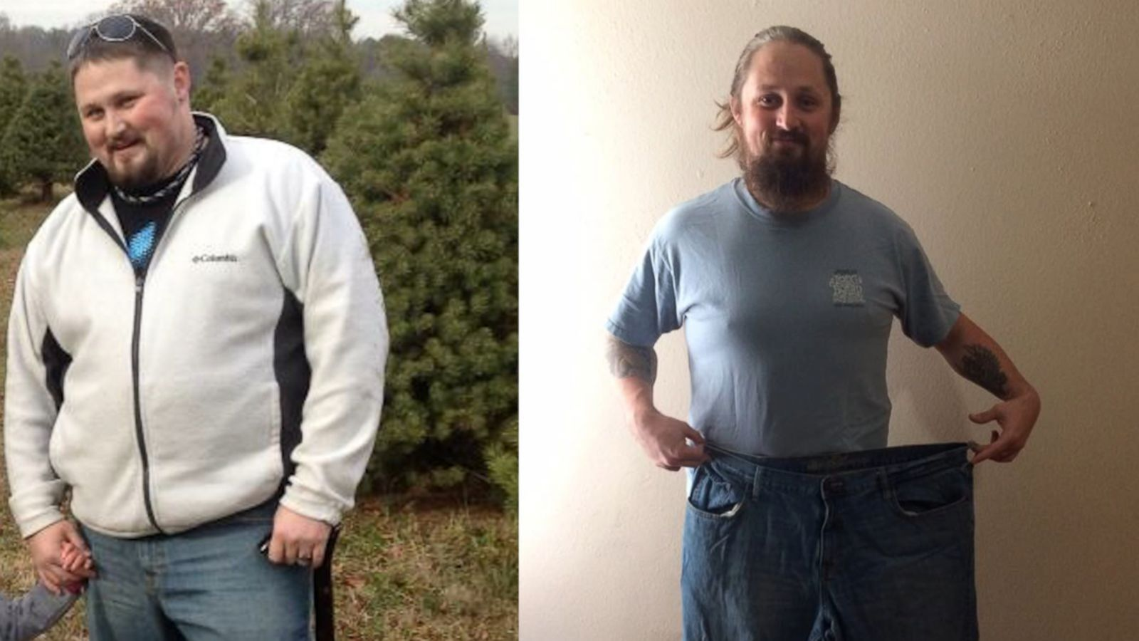 Army Vet Loses 125 Pounds On Yoga Plan Of Former Pro Wrestler Diamond Dallas Page Abc News