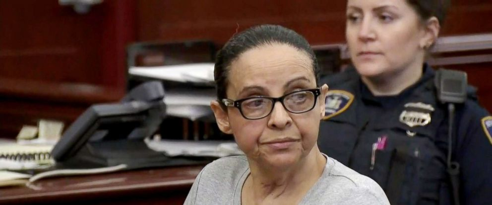 PHOTO: Yoselyn Ortega listens to closing statements in her murder trial in New York, April 16, 2018.