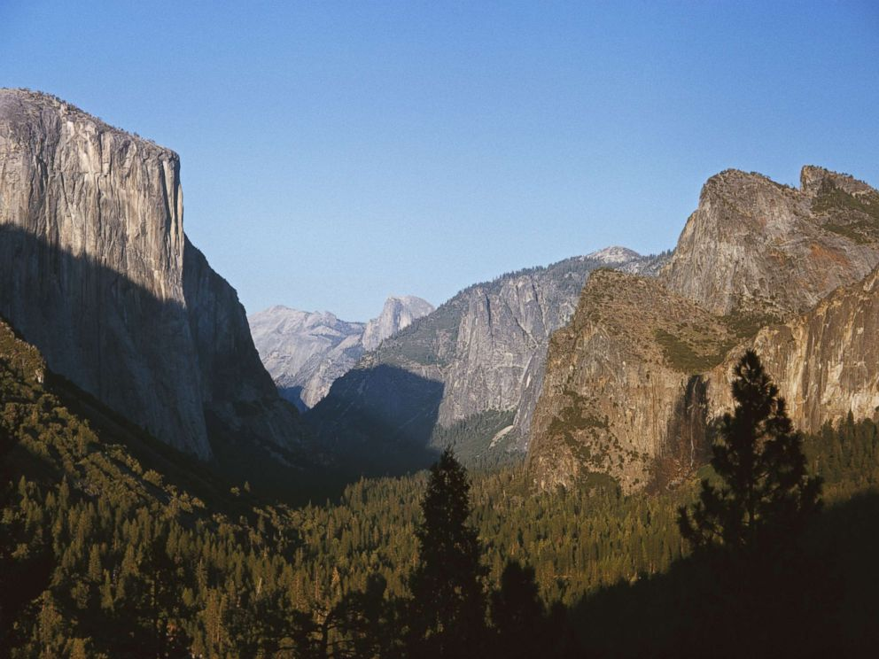 PHOTO: Yosemite Valley, a glacial valley in Yosemite National Park, California.