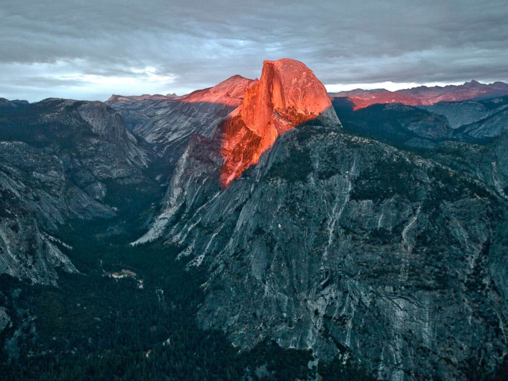 Hiker falls to his death from Yosemite National Park's famed Half