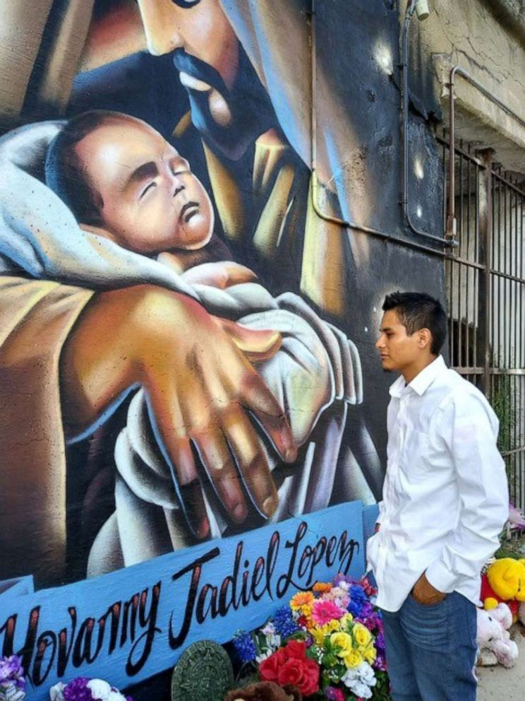 PHOTO: Yovany Lopez, 20, is the husband of slain Marlin Ochoa-Lopez and the father of their son, Yovanny Lopez, who died two months after being taken to a hospital by his mothers alleged killers.