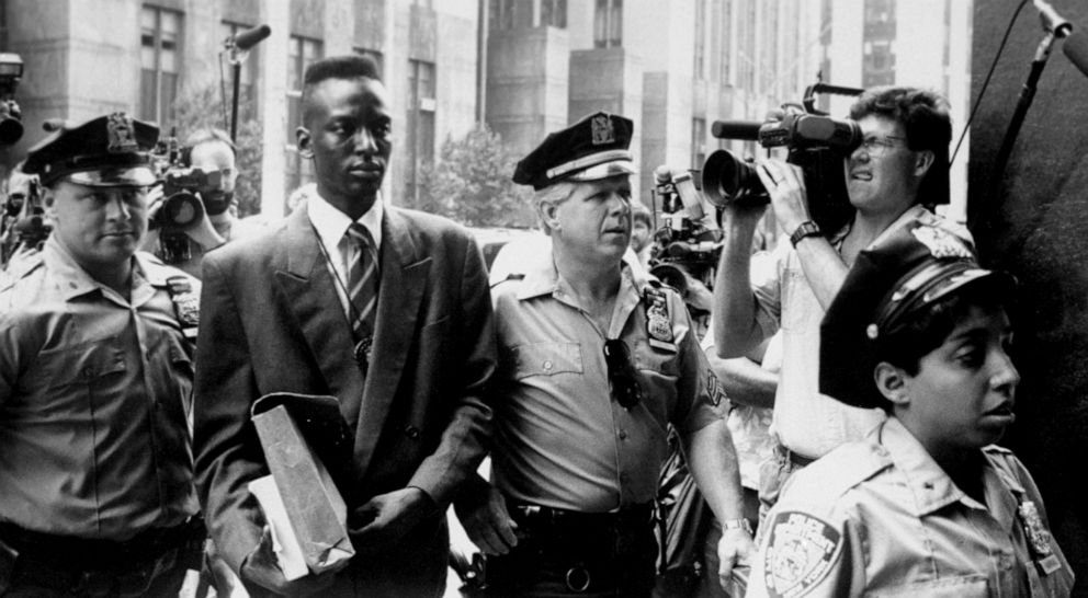 Image result for the central park 5 going to court