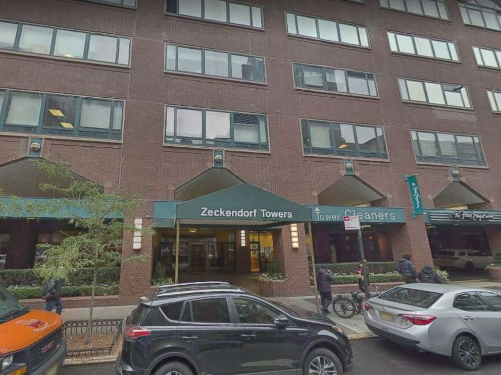 New York police are investigating after a woman was found dead in a trash compactor at Zeckendorf Towers in Manhattan, N.Y., on Tuesday, July 10, 2018.
