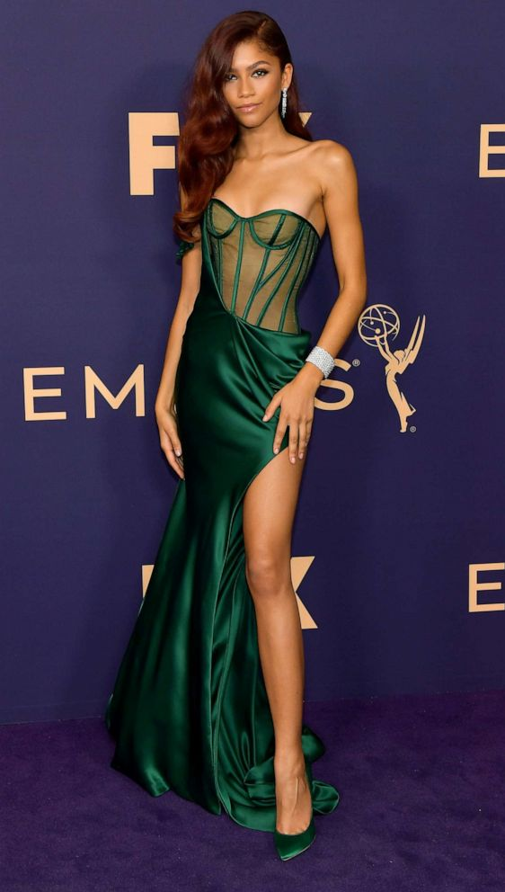 PHOTO: Zendaya attends the 71st Emmy Awards on September 22, 2019 in Los Angeles, California.