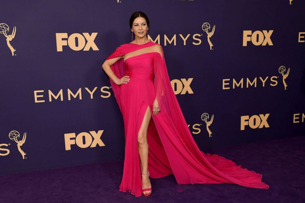 PHOTO: Catherine Zeta-Jones attends the 71st Emmy Awards at Microsoft Theater on September 22, 2019 in Los Angeles, California.