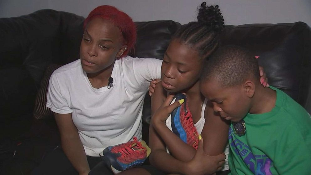 PHOTO: The family of Zion Person speaks with WTVD in Durham, N.C.