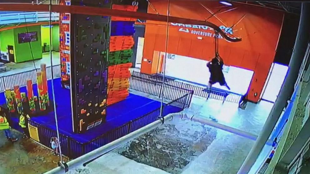 Mother whose 10-year-old fell from zip line files lawsuit in Florida thumbnail