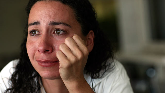 PHOTO: Hannah Overton reflects on her family and life in prison at the Lane Murray Unit at Gatesville prison, Sept. 18, 2008.