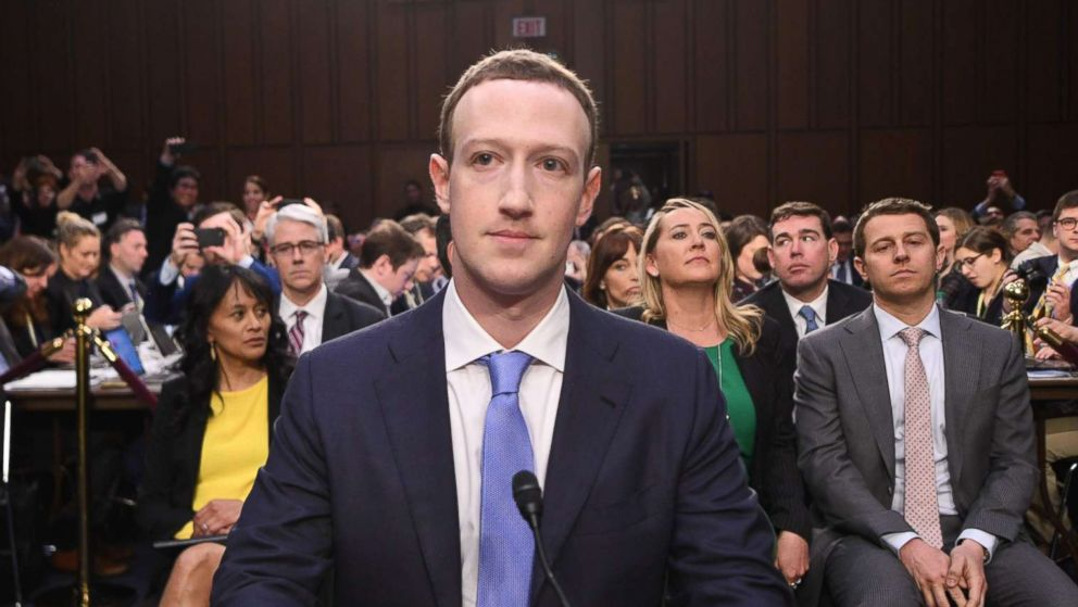 Facebook CEO Mark Zuckerberg arrives to testify before a joint hearing of the Senate Commerce, Science and Transportation Committee and Senate Judiciary Committee on Capitol Hill, April 10, 2018.