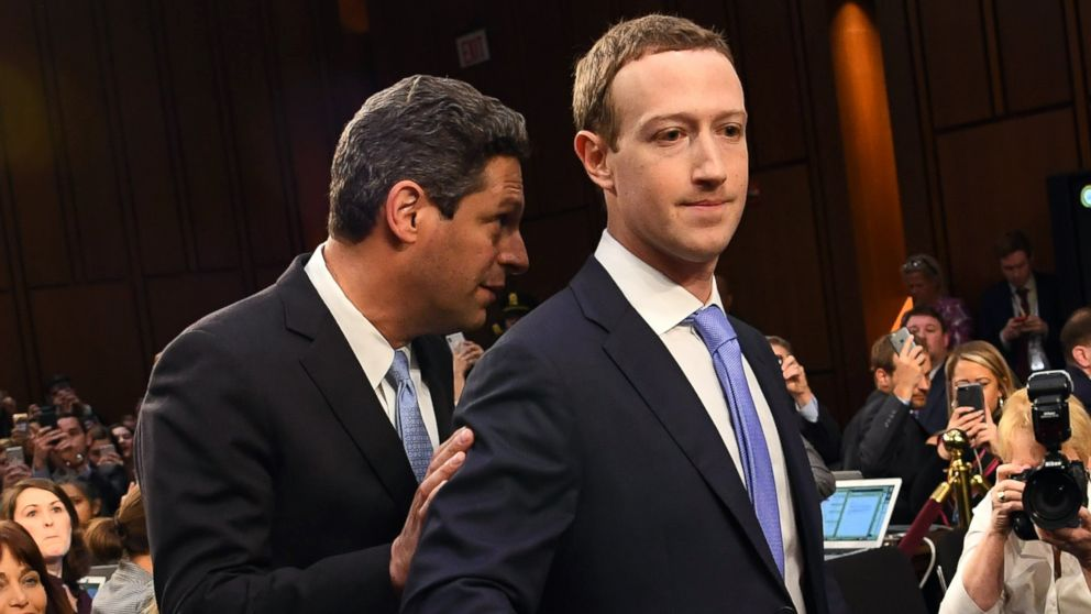 Facebook CEO Mark Zuckerberg arrives to testify before a joint hearing of the Senate Committee on the Judiciary and the Senate Committee on Commerce, Science, and Transportation regarding the company's use and protection of user data in Washington.