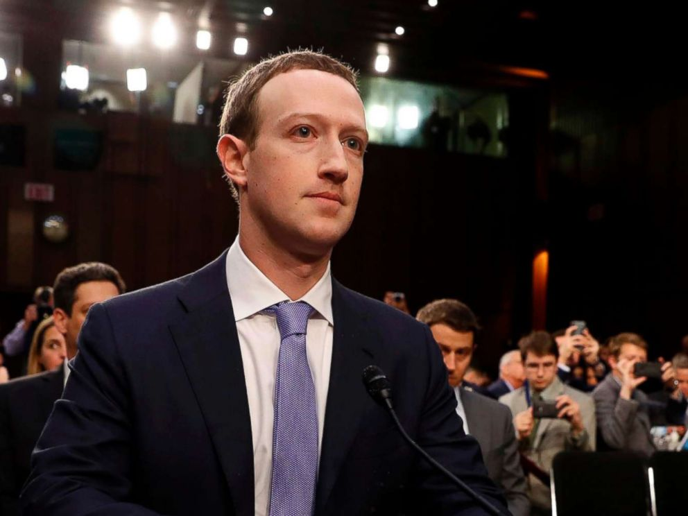 PHOTO: Facebook CEO Mark Zuckerberg arrives to testify before a Senate Judiciary and Commerce Committees joint hearing regarding the companys use and protection of user data, on Capitol Hill in Washington, April 10, 2018.