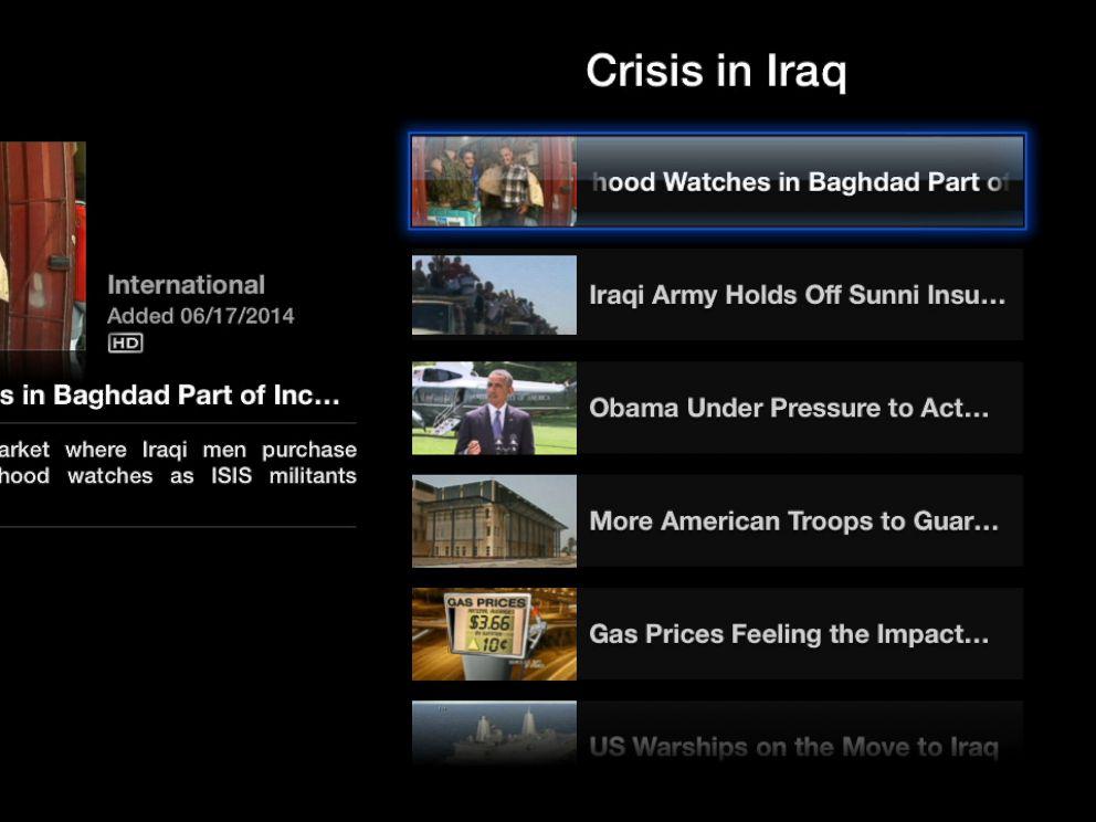PHOTO: ABC News on Apple TV.