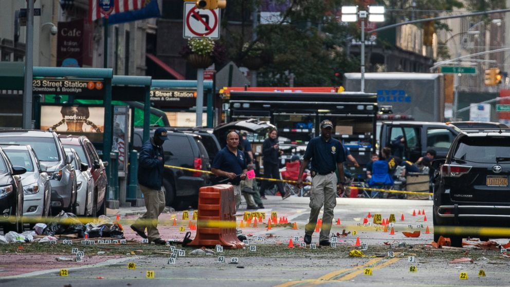 sources up to 5 people in fbi custody in connection with ny bombing