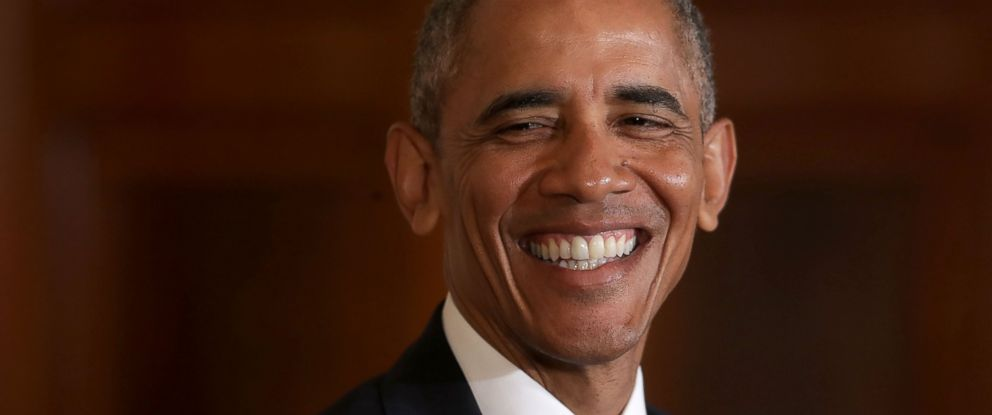 PHOTO: President Barack Obama smiles during a joint news conference with Singapores Prime Minister Lee Hsien Loong in the East Room at the White House, Aug. 2, 2016 in Washington.