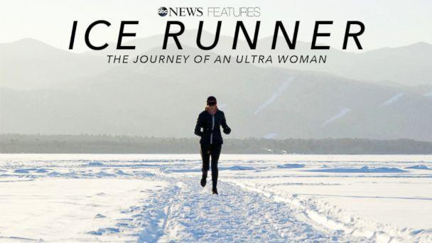 'Ice Runner': Running across the world's deepest lake