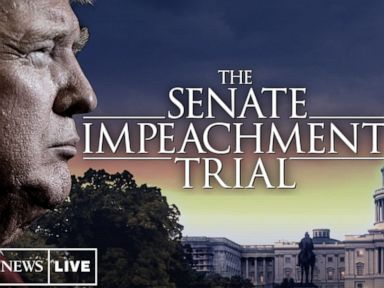 LIVE:  Trump's legal team continues defense in impeachment trial: ABC News Live