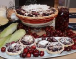 PHOTO: Seen here is Elizabeth Karmels Double Cherry Pie With Streusel Topping, featured on Good Morning America.