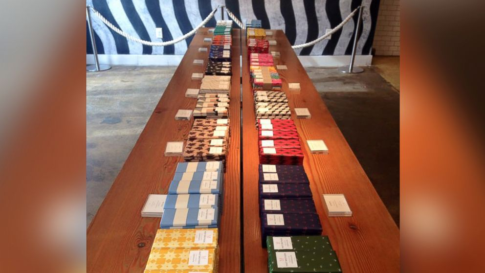 Mast Brothers Chocolate offers a variety of chocolate starting around $8 a bar.