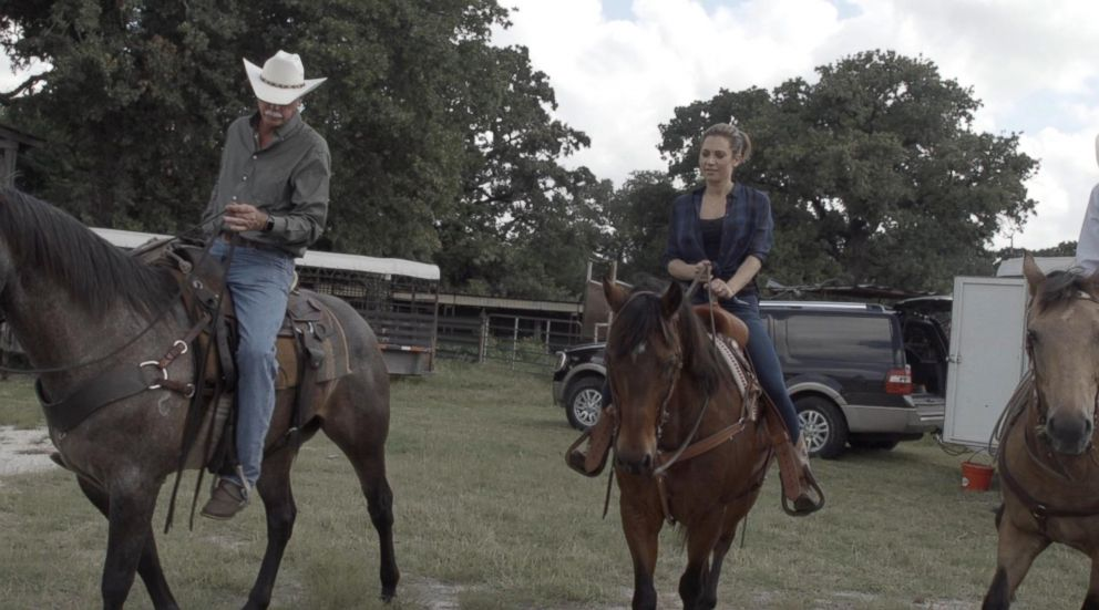 PHOTO: Ginger Zee and Jon Taggart, who started finishing cattle on grass in 1999.