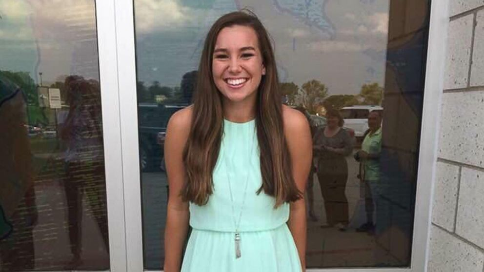 Mollie Tibbetts, a University of Iowa student, went missing after going out for a jog on Wednesday, July 18, 2018.