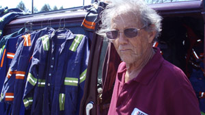 Gives You the Chills: Uniform Salesman Knows Faces of the Mining Tragedy