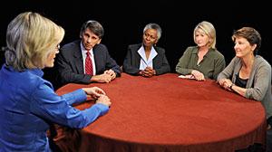 Photo: Elder care roundtable