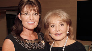 "PHOTO Sarah Palin on ""Barbara Walters 10 Most Fascinating People"""