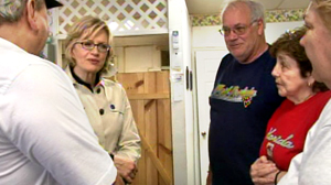 PHOTo Diane Sawyer visits West Virginia in regard to the recent mining accident.