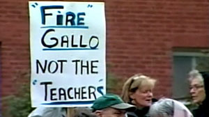 Did a Rhode Island School Superintendent step out of line by firing all his teachers?
