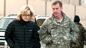 General McChrystal with Diane Sawyer