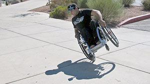 Photo: Wheelchair Bound Teen Changes Skating World One Back Flip At A Time: Aaron Fotheringham Shreds Limits By Shredding At The Skate Park