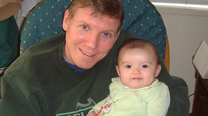 PHOTO Paul Toland has not seen his daughter Erika since she was a year old, nearly 8 years ago.