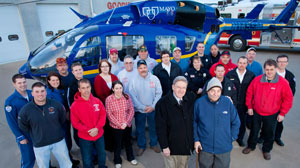 PHOTO Heart attack victim and first responders.
