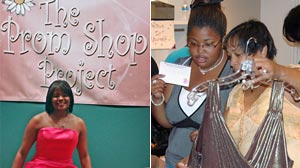 Photo: Prom Shop Project Gives Deserving High School Girls Chance to Shine: Kim Peters Makes Prom Dreams Come True for Young Women in Dallas Community