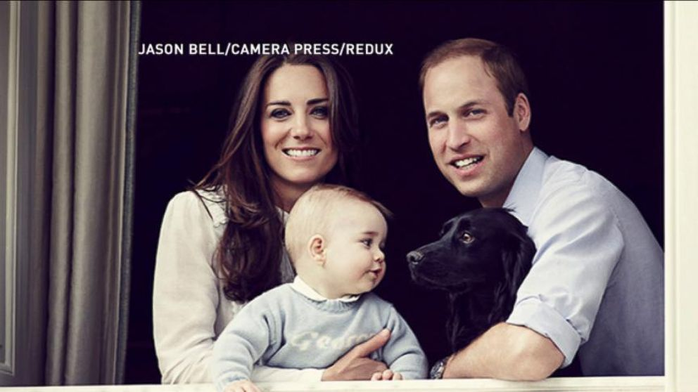 now playing next generation of the royal family portrait of a prince - Royal Family Christmas Card