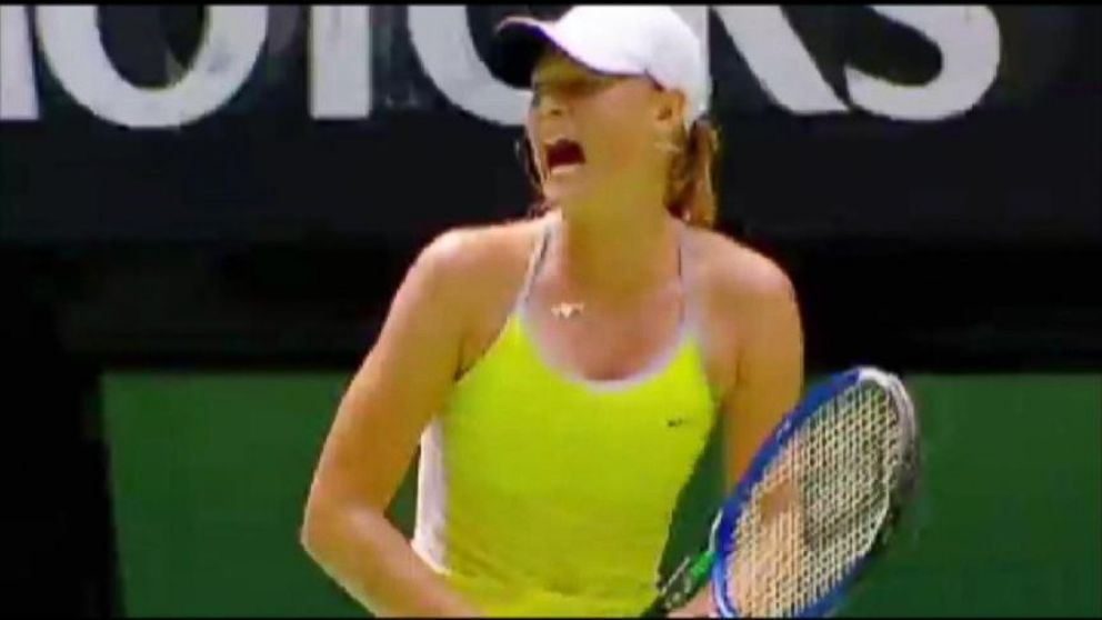 World News Now The Science Behind Tennis Players Grunts Video