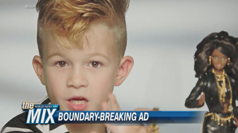 723ed3553b Boy Featured In Barbie Commercial Video - ABC News