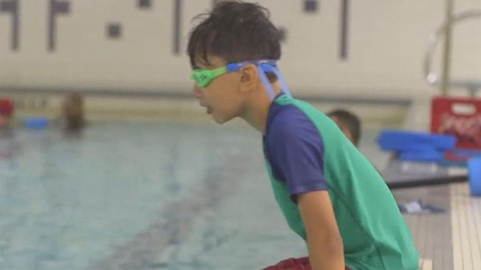 Olympian teaches community to swim