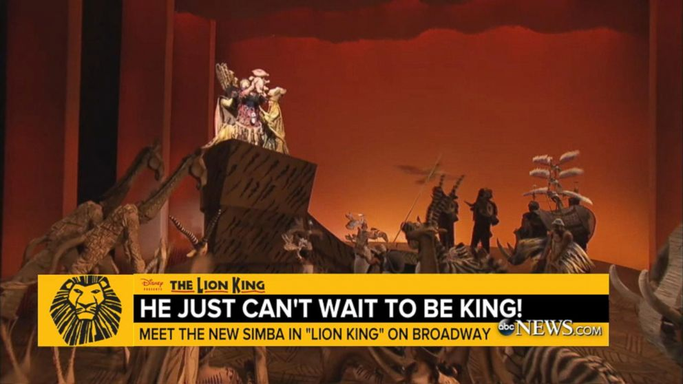 The Lion King On Broadway Welcomes New Simba