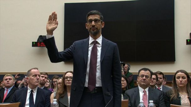 Google CEO grilled by lawmakers on Capitol Hill