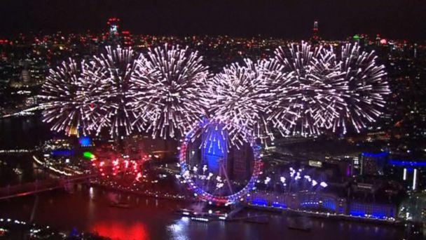 Celebrating New Year's Eve around the world