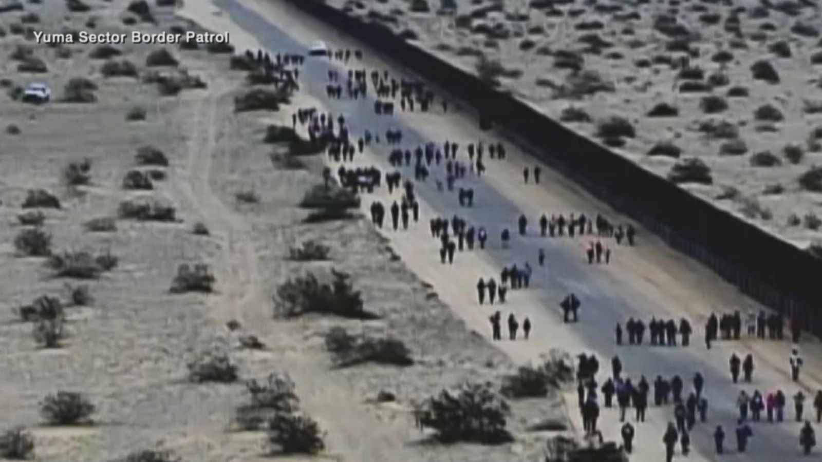 Largest single group of migrants ever tunnels under border wall: CBP