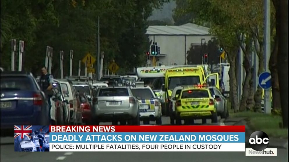 New Zealand Mosque Attack Photo: Deadly New Zealand Mosque Attacks Video
