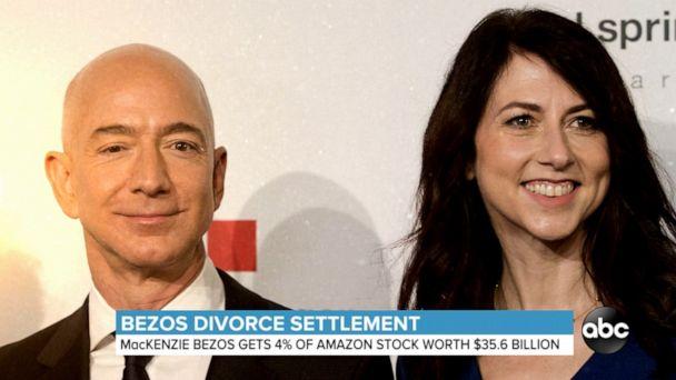 Bezos divorce settlement announced