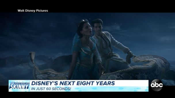 Disney releases slate of upcoming blockbusters
