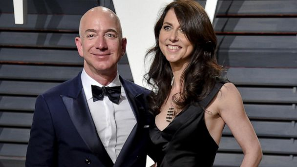 MacKenzie Bezos to give away half of fortune to charity