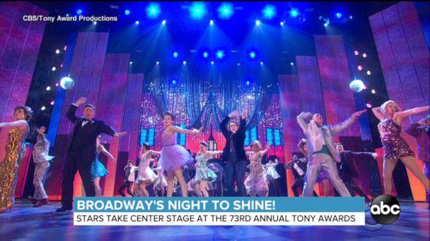 Broadway celebrates biggest night at 2019 Tony Awards