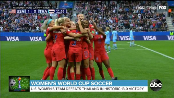 US women make World Cup history