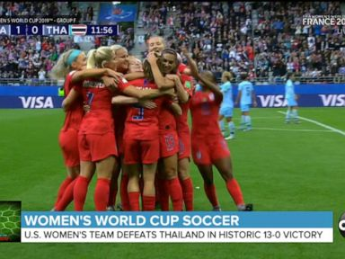 WATCH US women make World Cup history